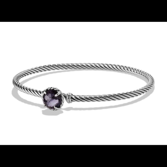 David Yurman Jewelry - David Yurman Chatelaine Bracelet Lavender Amethyst